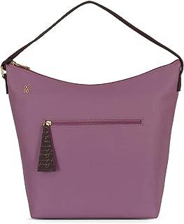 Baggit Autumn-Winter 2020 Faux Leather Women's Sling Handbag (Purple) (Lxe Font)