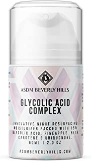 ASDM Beverly Hills Glycolic Acid Night Cream, 2 oz.