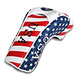 CRAFTSMAN GOLF Stars and Stripes American USA US Flag Driver Headcover Head Cover for Taylormade RBZ Cobra Taylormade Jetspeed SLDR Callaway Big Bertha Alpha Callaway X HOT Ping Driver