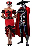 I LOVE FANCY DRESS LTD Halloween Karneval Fasching Party KOSTÜM VERKLEIDUNG FÜR Paare Day of The...