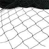 25' X 50' Net Netting for Bird Poultry Aviary Game Pens New 1' Square Mesh Size (25' x 50'-1'')