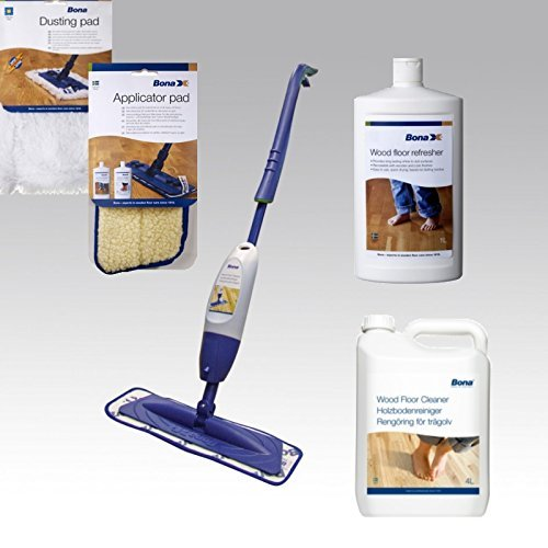 Bona Complete Cleaning Systems for Lacquered Floors