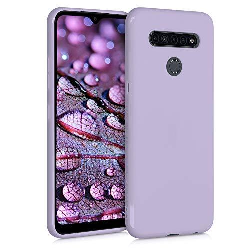 kwmobile Hülle kompatibel mit LG K41S - Hülle Handyhülle - Handy Hülle in Lavendel
