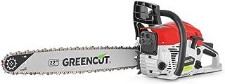 GREENCUT GS680X - Motosierra de gasolina con motor de 2