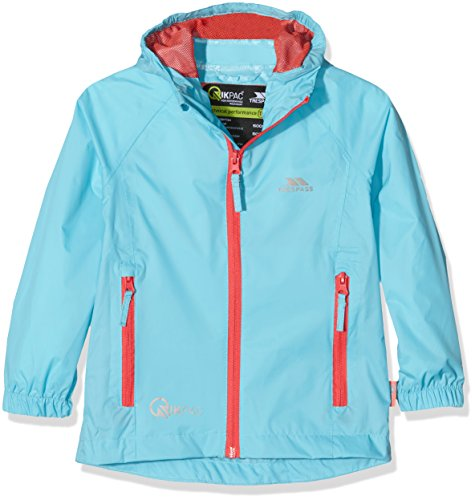 Qikpac Kids Packaway Waterproof Jacket AQUATIC 9/10