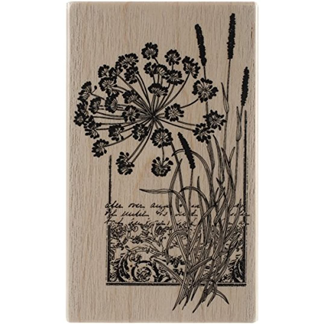 Penny Black 4402K Elated Wood Mounted Rubber Stamp