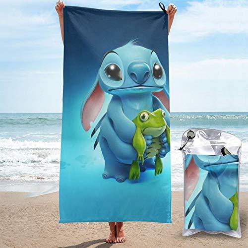 Toallas de secado rápido Koala Stit-Ch de microfibra, absorbentes, ligeras, portátiles, para acampar, deportes, viajes, fitness, 27.5 x 55 pulgadas