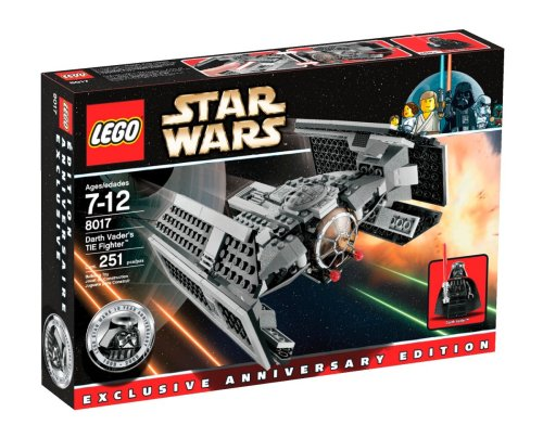Lego - 8017 - Jeu de construction - Star Wars TM - Darth Vader's TIE FighterTM