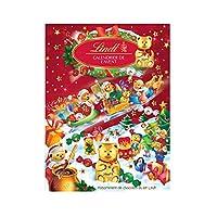 Lindt Calendrier de l'Avent Ours - Assortiment de 24surprises de Noël au chocolat au lait Pour donner une touche gourmande à chaque matin précédant Noël, ce calendrier propose : un délicieux ours Lindt, 6 petits ours fourrés d'un cœur au lait, 4 min...