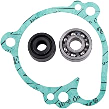 Reliable Water Pump Repair Kit Rebuild Gaskets Seals Compatible w/Kawasaki KX80 KX85 KX100 RM100