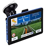 GPS Navigation for Car/Truck,7 Inche 256MB&8GB car Navigation System,Quickly Locate Speed Limit Reminder Lifetime Free Map Update