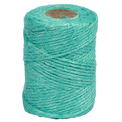 Cordel de papel Kraft de mermelada – 1/8 x 54 yardas – azul agua – se vende por separado