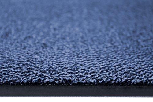 Miltex Felpudo PP, Polipropileno, Azul, 90 x 120 cm