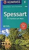 KOMPASS Wanderführer Spessart mit Frankfurt am Main: Wanderführer mit Extra-Tourenkarte 1:60.000, 65 Touren, GPX-Daten zum Download