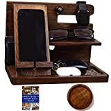 Wooden Docking Station Men and Nightstand...