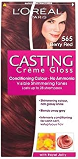 L'は、赤565ベリーを鋳造Oreall (L'Oreal) (x2) - L'Oreall Casting 565 Berry Red (Pack of 2) [並行輸入品]