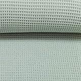 Waffelpique Waffelstoff, Meterware ab 50cm, 150cm breit,