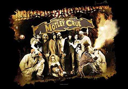 empireposter Motley Crue - Festival Circus - Posterflaggen Fahne - Größe 110x75 cm