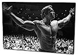 Arnold Schwarzenegger Format: 120x80 Leinwandbild,