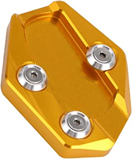 Grau perfk Kickstand Pad Seitenst/änder Pad aus Aluminium f/ür Benelli Leoncino 500