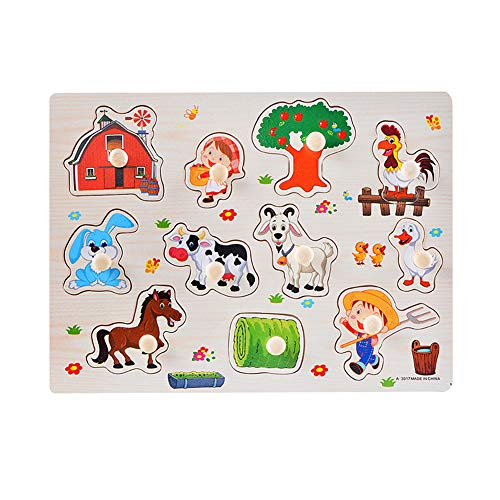 Puzzel Voor 2 Jarigen Jongens Houten Puzzel Kids Vloer Puzzel Voor 2 Jarigen Houten Puzzel Voor 1 Jarigen Peuter Puzzel 2-3 Jaar Houten d