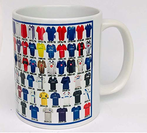 Portsmouth Mug Portsmouth Shirt History Mug Ceramic Mug Football Mug Shirts Through The Ages