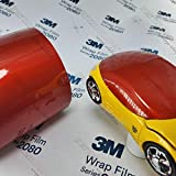 3M 1080 Gloss Dragon Fire Red | G363 | Vinyl CAR WRAP Film (5ft x 50ft (250 Sq/ft)) w/Free-Style-It Pro-Wrapping Glove