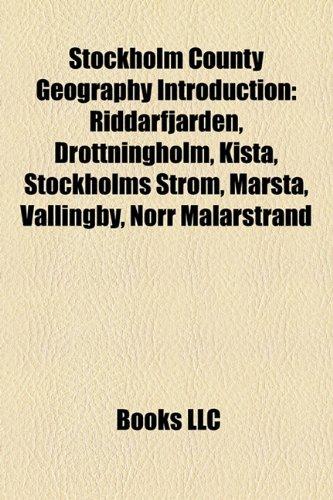 Stockholm County geography Introduction: Riddarfjärden, Drottningholm, Kista, Stockholms ström, Västerhaninge, Norr Mälarstrand, ... Skolgränd, Tumba, Sweden, Storkyrkobrinken