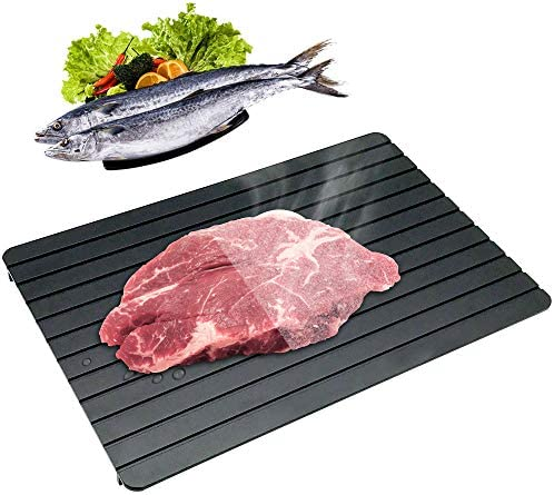 CHEFLY Fast Defrosting Tray for Frozen Meat Foods Premium Innovative No Electricity Aluminum product image