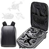 Honbobo Mochila para DJI FPV Combo, Drone FPV y accesorios Bolsa de cáscara dura Bolsa de almacenamiento Estuche Bolsa impermeable para drones