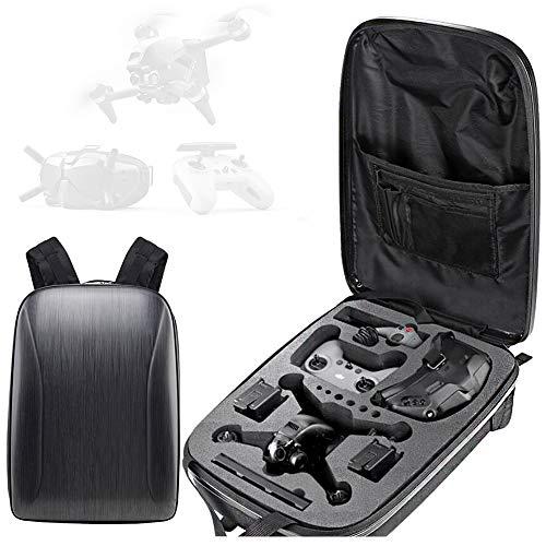 Honbobo Rucksack für DJI FPV Combo, FPV-Drohne und Zubehör Hartschalentasche Aufbewahrungstasche Tragetasche Wasserdichte Drohnen-Tasche
