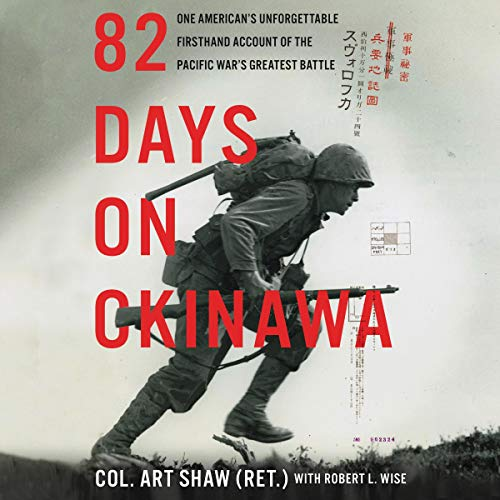 82 Days on Okinawa  By  cover art