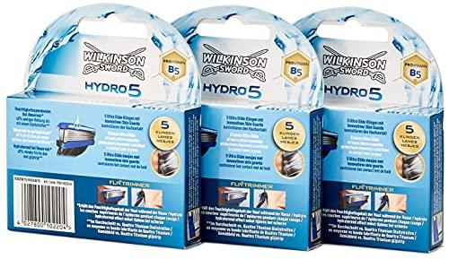 Wilkinson Sword Hydro 5 Jahresvorratspack Herren Rasierklingen 12 St