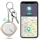 Schlüsselfinder, Wireless Key Finder mit Bluetooth APP für Haustier Tracker, Wallet Tracker, Telefon Tracker Unterstützung Fernbedienung Schlüssel Locator Kompatibel mit iOS/Androi (Gold)