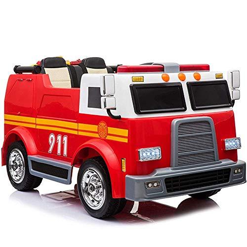 HYLH Coche eléctrico para niños súper Grandes Vehículo Todoterreno Cuatro Ruedas Control...