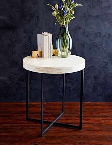 ZHANWEI Etagère de Fleur Petite table ronde Fauteuil à fleurs Canapé moderne Armoire latérale Salon Petite table basse Fer Ornaments Lit Chambre à coucher Table de chevet Simple étagère étagère pour fleurs