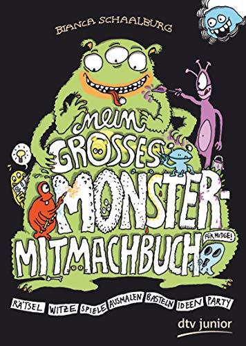Mein großes Monster-Mitmachbuch