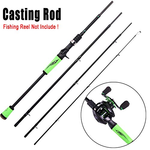 FISHYY Caña De Pescar Spinning Casting Speed ​​Rods De Pesca Porable Light High Carbon 4 Pc Blanks para Viajes Pesca De Agua Dulce