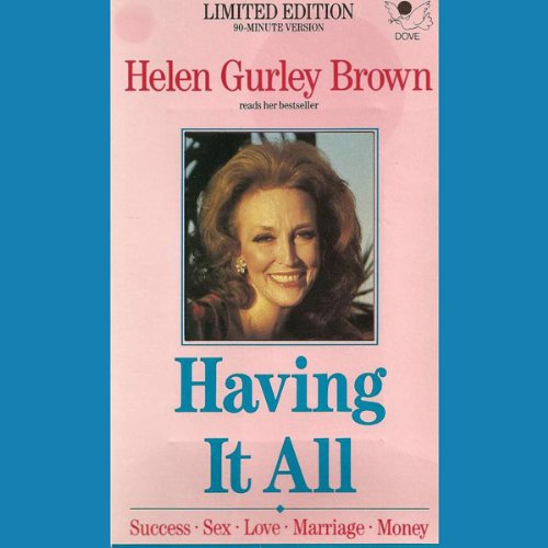 Having It All audiobook cover art
