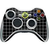 Skinit Decal Gaming Skin Compatible with Xbox 360 Wireless Controller - Originally Designed Black Grid Design
