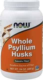 NOW Supplements, Whole Psyllium Husks, 24-Ounce