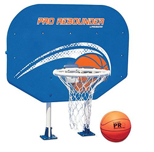 Poolmaster 72774 Pro Rebounder Poolside Basketball Game with Perma-Top Mounts