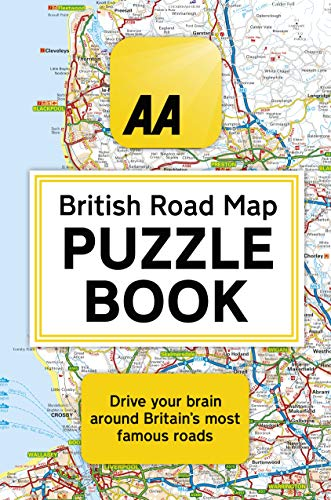 The AA British Road Map Puzzle B...