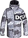 DC Propaganda Mens Jacket Chocolate Chip Grapescale Camo Sz M