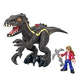 Fisher-Price Imaginext Jurassic World Indoraptor Dinosaur & Maisie Figure