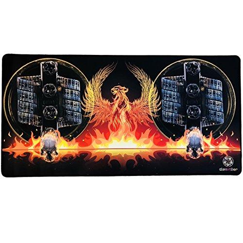 Preisvergleich Produktbild Wickelmatte für Selbstwickler Coils Matte Mat Pad Unterlage,  Größe: 800x400x2, 5mm,  Gamer Mauspad Vape Phoenix