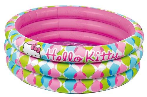 Giochi Preziosi, Hello Kitty, Piscina Gonfiabile 3 Tubi, 100x50 cm