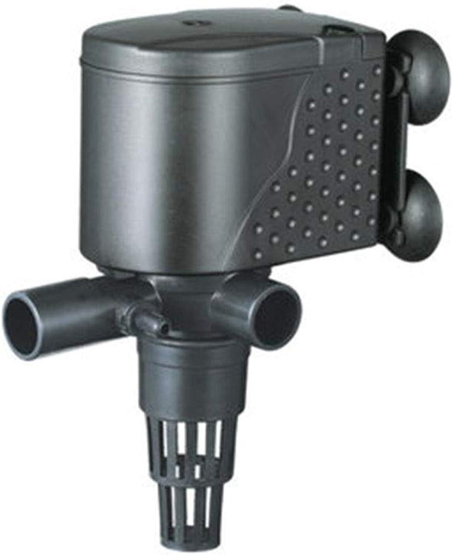 LIFUREN Fish Tank Oxygen Pump Aquarium Filter Pump Silent Aeration And Circulation Pump Triple Submersible Pump Pump (color   Black, Size   30W)
