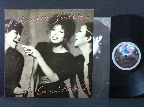 Pointer Sisters - I'm So Excited - Planet - RPS 108