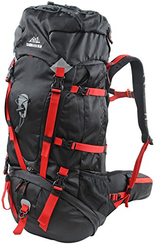 Scandinavian Gear 65L Backpack with Rain Cover